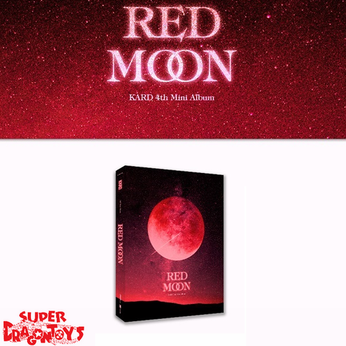 KARD (카드) - RED MOON - 4TH MINI ALBUM
