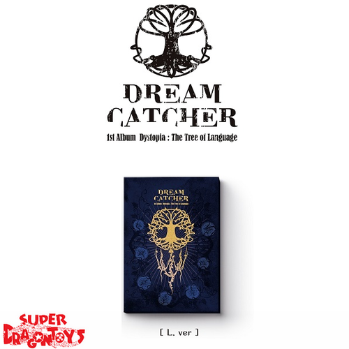 DREAMCATCHER (드림캐쳐) - DYSTOPIA : THE TREE OF LANGUAGE - [L] VERSION - 1ST ALBUM