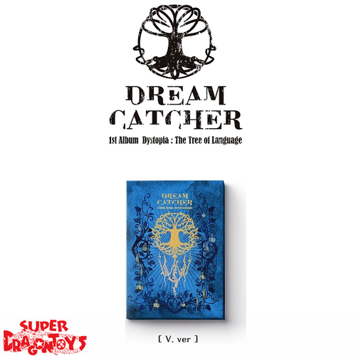 DREAMCATCHER (드림캐쳐) - DYSTOPIA : THE TREE OF LANGUAGE - [V] VERSION - 1ST ALBUM