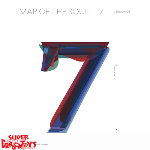 BTS (방탄소년단) - MAP OF THE SOUL : 7 - VERSION [3] - 4TH ALBUM