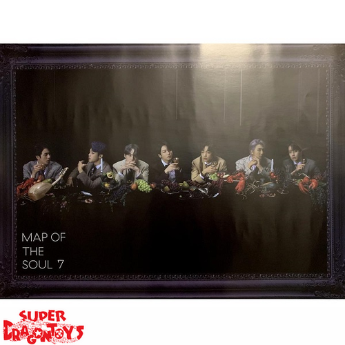 "BTS - ""MAP OF THE SOUL : 7"" OFFICIAL POSTER - VERSION [3]"