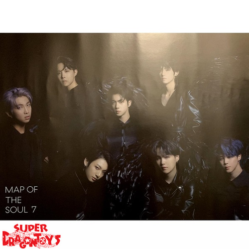 "BTS - ""MAP OF THE SOUL : 7"" OFFICIAL POSTER - VERSION [2]"