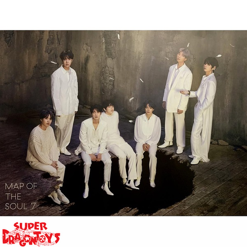 "BTS - ""MAP OF THE SOUL : 7"" OFFICIAL POSTER - VERSION [1]"