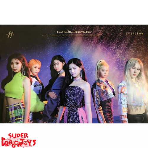 """EVERGLOW - """"REMINISCENCE"""" OFFICIAL POSTER"""