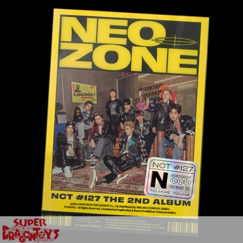 NCT127 - NEO ZONE - [N] VERSION - 2ND ALBUM