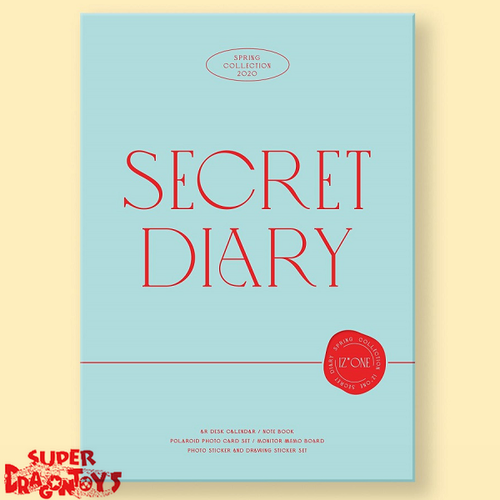 IZ*ONE (아이즈원) - SPRING COLLECTION : SECRET DIARY - [CALENDAR EDITION]
