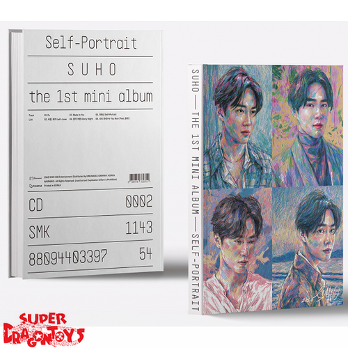 SUHO (EXO) - SELF PORTRAIT - VERSION [ARCHIVE #2] - 1ST MINI ALBUM