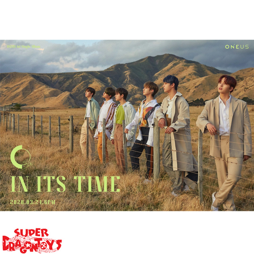 """ONEUS - """"IN ITS TIME"""" OFFICIAL POSTER"""