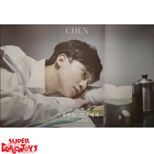 """CHEN - """"DEAR MY DEAR"""" OFFICIAL POSTER"""