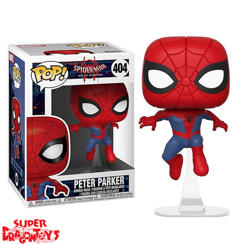 SPIDER MAN INTO THE SPIDER VERSE - PETER PARKER - FUNKO POP