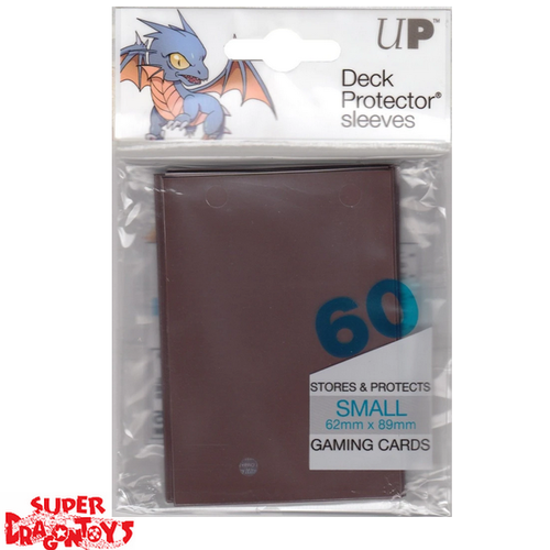 TCG - DECK PROTECTOR SLEEVES [BROWN] - SMALL SIZE