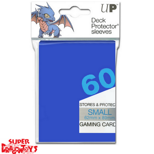 TCG - DECK PROTECTOR SLEEVES [BLUE] - SMALL SIZE