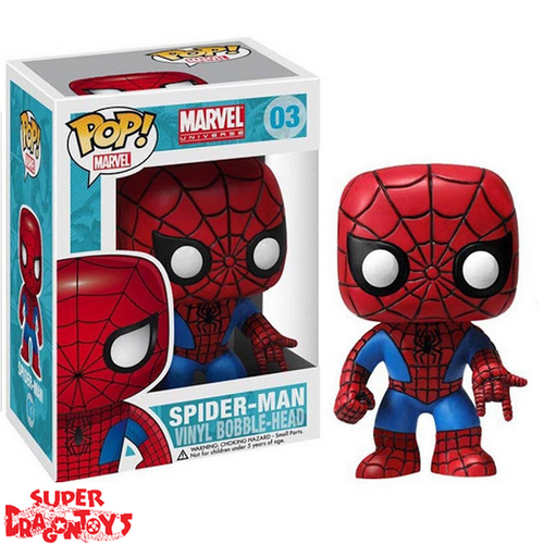 SPIDER MAN - SPIDER MAN - FUNKO POP