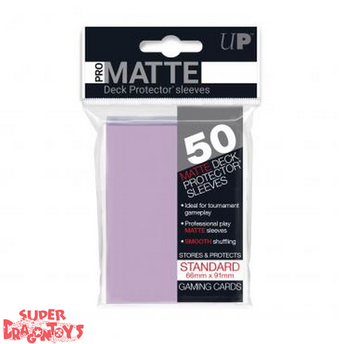 TCG - MATTE DECK PROTECTOR SLEEVES [PURPLE] - STANDARD SIZE