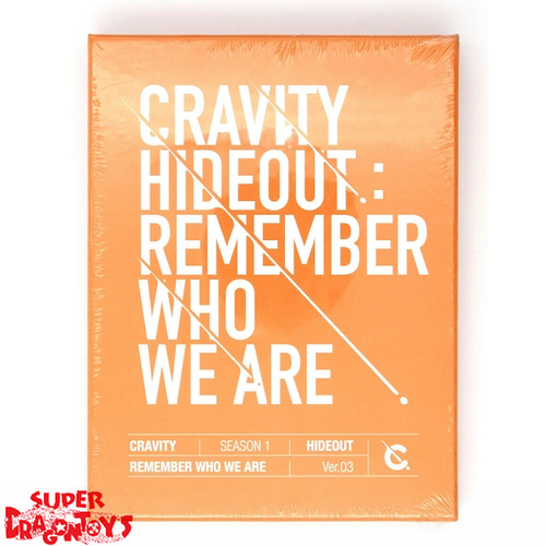 CRAVITY (크래비티) - HIDEOUT : REMEMBER WHO WE ARE - VERSION [3] - 1ST MINI ALBUM