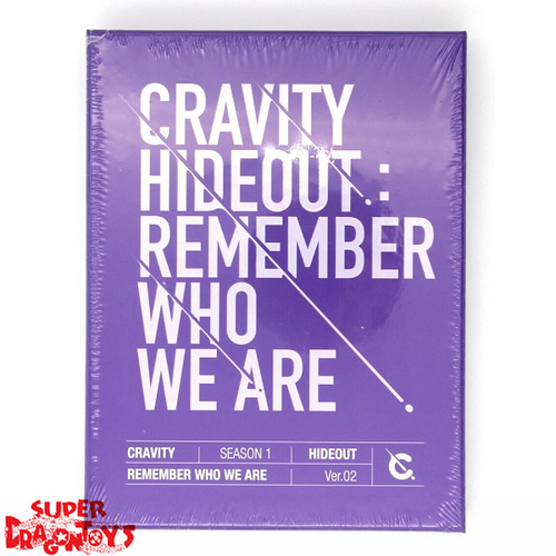 CRAVITY (크래비티) - HIDEOUT : REMEMBER WHO WE ARE - VERSION [2] - 1ST MINI ALBUM
