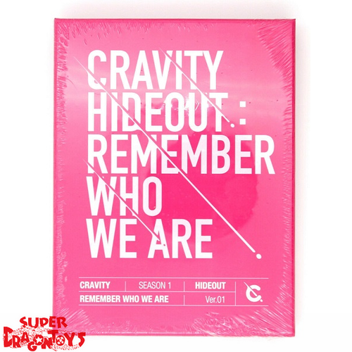 CRAVITY (크래비티) - HIDEOUT : REMEMBER WHO WE ARE - VERSION [1] - 1ST MINI ALBUM