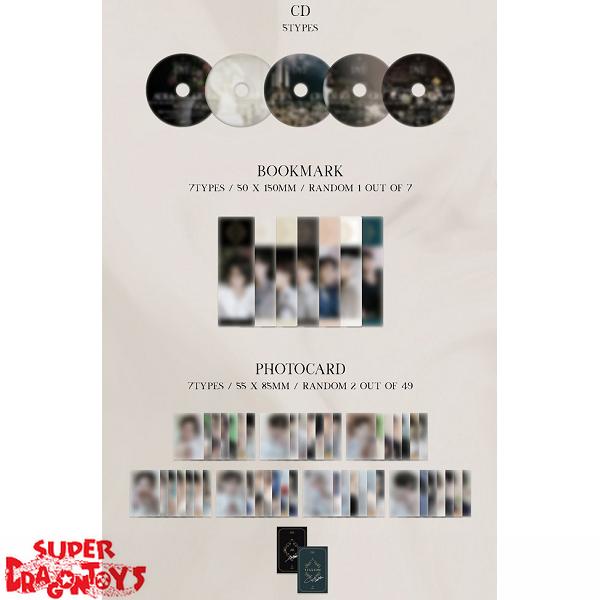 got7 dye version e mini album