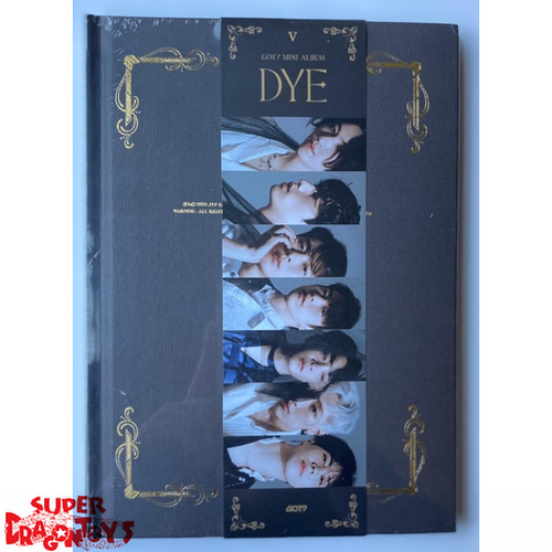 GOT7 (갓세븐) - DYE - VERSION [V] - MINI ALBUM