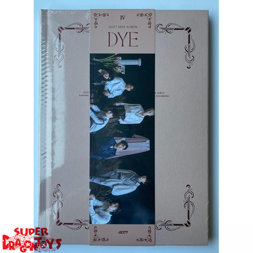 GOT7 (갓세븐) - DYE - VERSION [IV] - MINI ALBUM