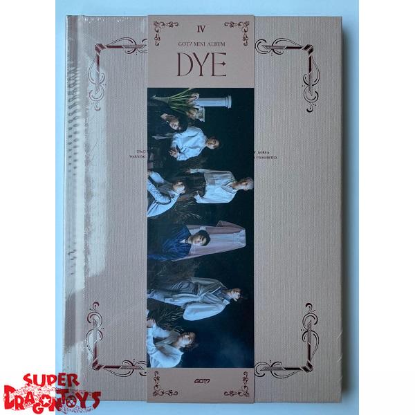 got7 dye version d mini album