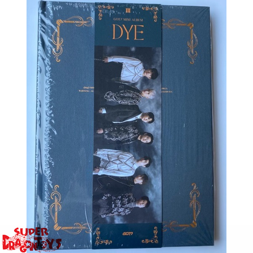 GOT7 (갓세븐) - DYE - VERSION [III] - MINI ALBUM