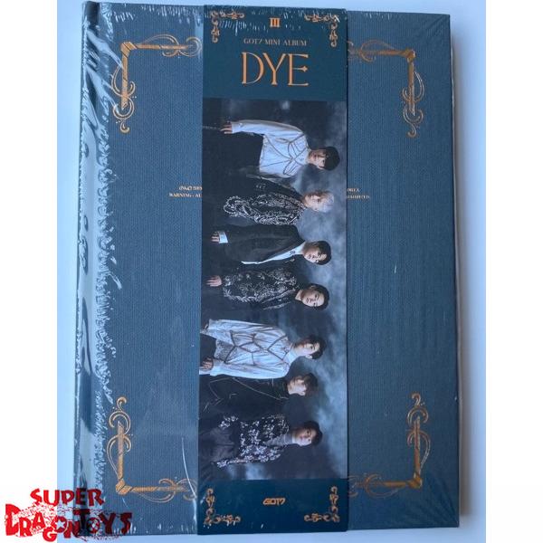 got7 dye version c mini album