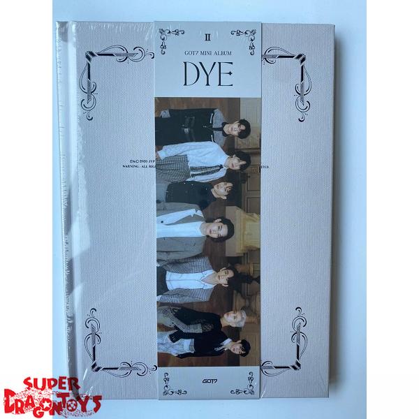 got7 dye version b mini album