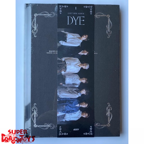 GOT7 (갓세븐) - DYE - VERSION [I] - MINI ALBUM