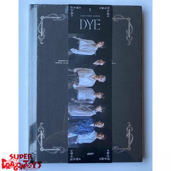 got7 dye version a mini album