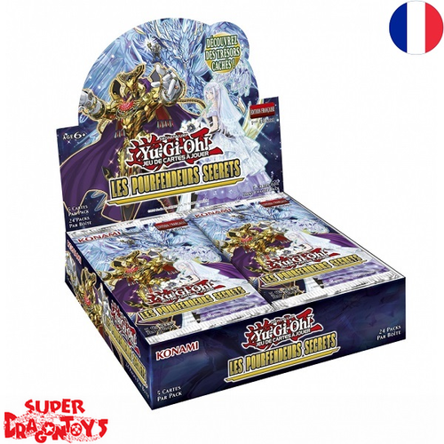 "YUGIOH TCG - DISPLAY [24 BOOSTERS] ""LES POURFENDEURS SECRETS"" - EDITION FRANCAISE"