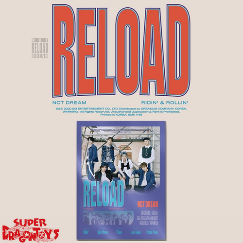 NCT DREAM (엔시티 드림) - RELOAD - [ROLLIN'] VERSION - 4TH MINI ALBUM