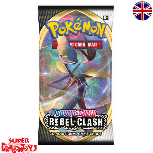"POKEMON TCG - BOOSTER ""SWORD AND SHIELD : REBEL CLASH"" - ENGLISH EDITION"