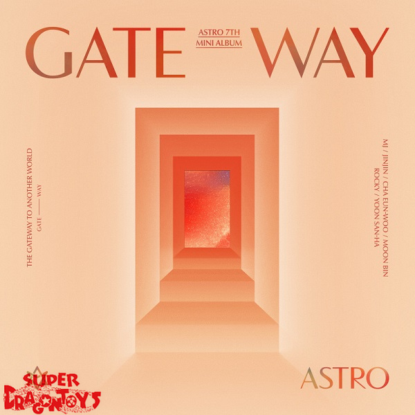 ASTRO (아스트로) - GATEWAY - [TIME TRAVELER] VERSION - 7TH MINI ALBUM