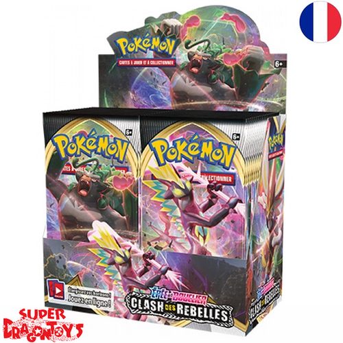 "POKEMON TCG - DISPLAY [36 BOOSTERS] ""EPEE ET BOUCLIER : CLASH DES REBELLES"" - EDITION FRANCAISE"