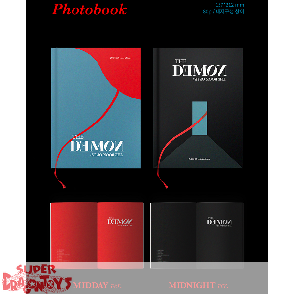 DAY6 (데이식스) - THE BOOK OF US : THE DEMON - [MIDDAY] VERSION - 6TH ALBUM