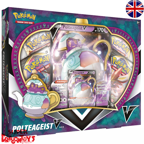 "POKEMON TCG - ""POLTEAGEIST V"" BOX - ENGLISH EDITION"