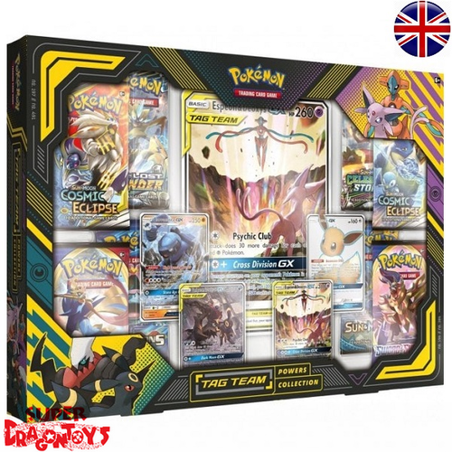 "POKEMON TCG - ""TAG TEAM POWERS COLLECTION"" BOX - ENGLISH EDITION"