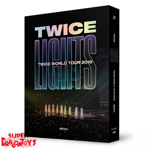 TWICE (트와이스) - TWICE WORLD TOUR 2019 : TWICELIGHTS ON SEOUL - [2DVD] BOX