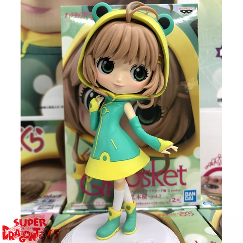 CARD CAPTOR SAKURA - SAKURA KINOMOTO [VERSION A] - QPOSKET COLLECTION