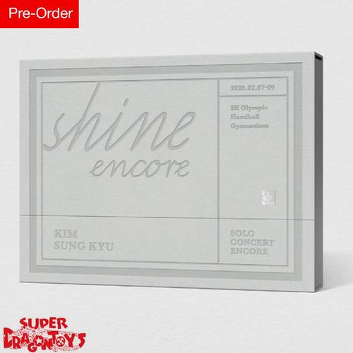 KIM SUNG KYU (김성규) - SOLO CONCERT : SHINE ENCORE - [2DVD] BOX