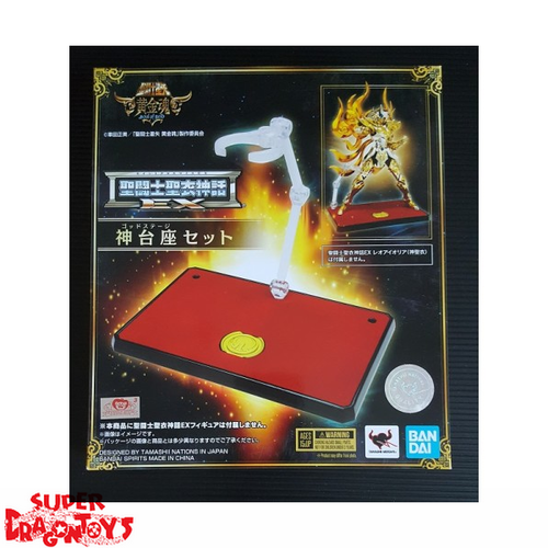 SAINT SEIYA - GOD STAGE SET [3 STANDS] - MYTH CLOTH EX [LIMITED EDITION]