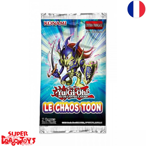 "YUGIOH TCG - BOOSTER ""LE CHAOS TOON"" - EDITION FRANCAISE"