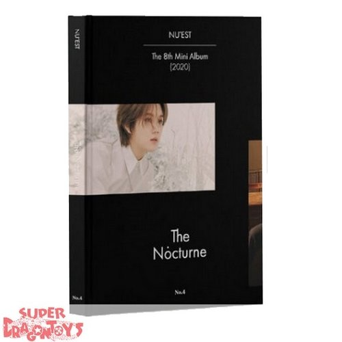 NU'EST (뉴이스트) -  THE NOCTURNE - [NO.4] VERSION - 8TH MINI ALBUM