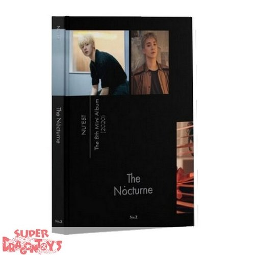 NU'EST (뉴이스트) -  THE NOCTURNE - [NO.2] VERSION - 8TH MINI ALBUM