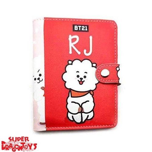 """BTS - PORTEFEUILLE """"RJ"""" - BT21 COLLECTION"""
