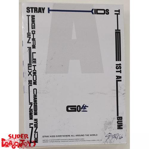 STRAY KIDS (스트레이 키즈) - GO LIVE - [TYPE C : BLUE] STANDARD VERSION - 1ST ALBUM