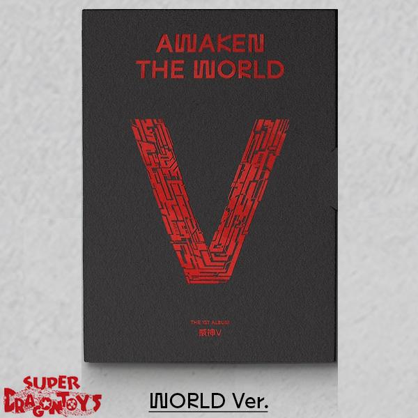 WAYV (웨이션브이) - AWAKEN THE WORLD - [WORLD] VERSION - 1ST ALBUM