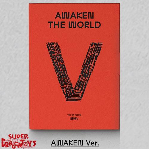 WAYV (웨이션브이) - AWAKEN THE WORLD - [AWAKEN] VERSION - 1ST ALBUM