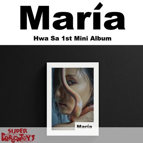 HWASA (화사) [MAMAMOO] - MARIA - 1ST MINI ALBUM